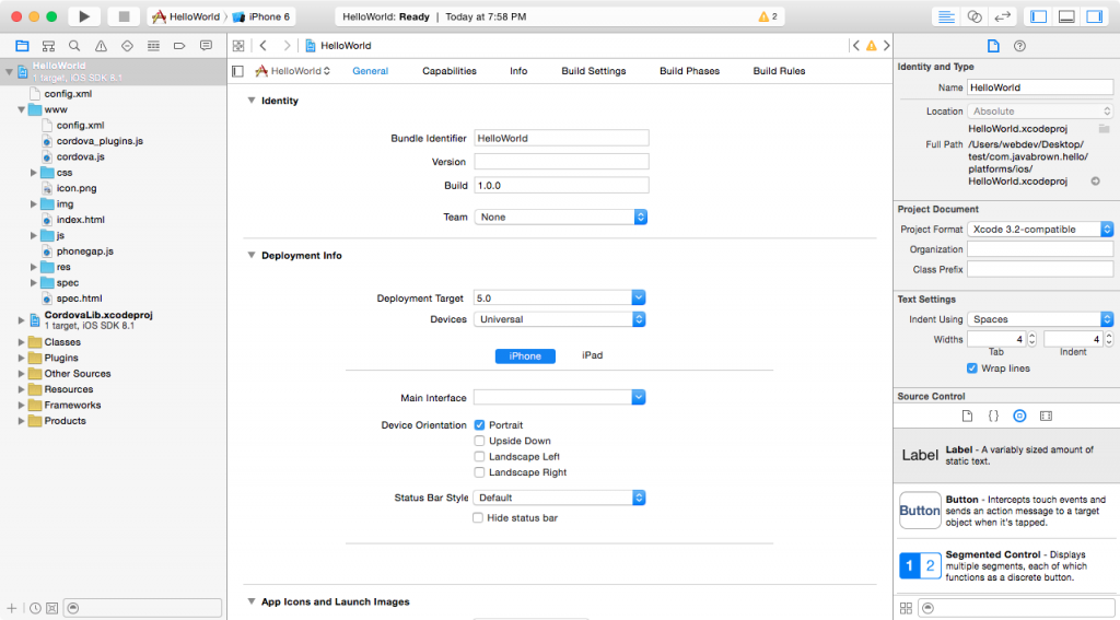 xcode-view